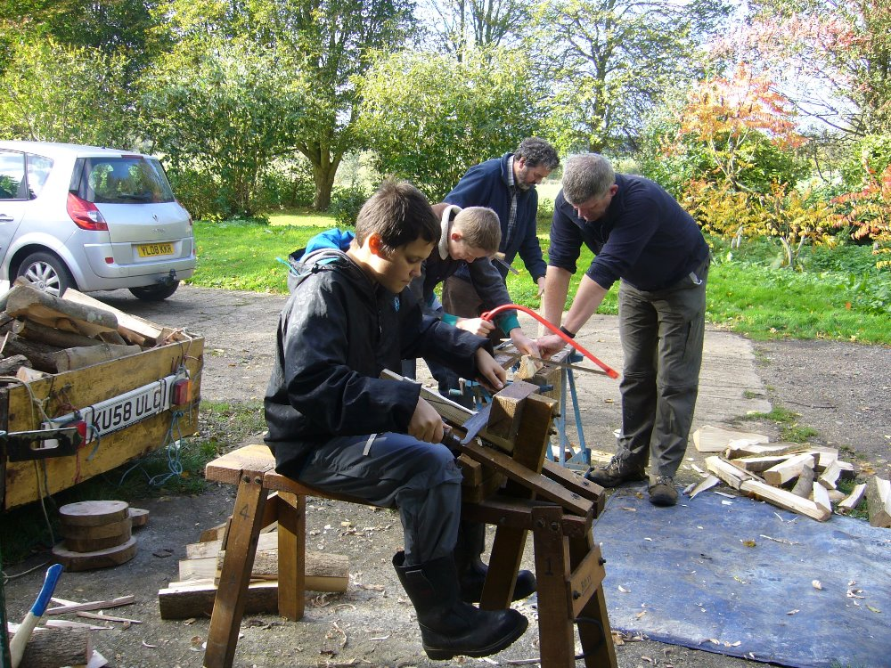 Tent Peg Making