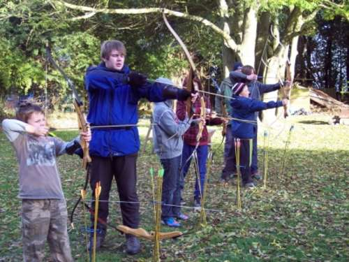 Have a go....Archery